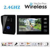 Wholesale 7 Inch Wireless Video Doorbell Door Access Control Intercom System Video Door Phone