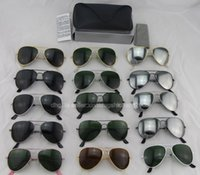 Glass gold sunglasses - price Hot DHL Ship gold brown lens Men Women Designer Sunglasses mm and mm With Box Case all