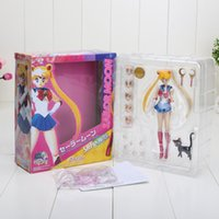 Wholesale 15cm quot Pretty Guardian Sailor Moon th Anniversary Simple Style Hero Action Figure New in Box