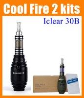 Cheap Innokin cool fire 2 e-cigarette ecig mod cool fire ii cool fire2 with innokin iclear 30b clearomizer 134 hand grenade e-cig mod e cig AT104