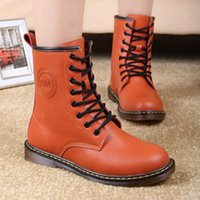 dr martens boots - New Style Dr Genuine Leather women Boots Martin winter Shoes for Women Brand Marten Dr Designer Motorcycle Boots
