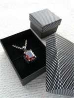 Wholesale High quality Jewelry packing and display Jewelry gift The count Necklace Medium gift Paper box RJ1318