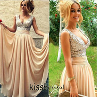 Cheap Long Cream Prom Dresses | Free Shipping Long Cream Prom ...