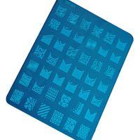 Cheap Nail Art Stamping Plate Nail Art Image Plate Best TOOL-BB-213  Nail Art stamping