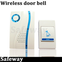 Wholesale NEW Home Security Alarm Wireless Door Bell with remote control M Melody choice shipping