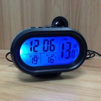 antique electronic supply - Car digital voltage table electronic clock luminous three in modified cars supplies v v