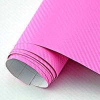 Carbon Fiber Vinyl Film airs textured - 5 x7 x2m pink PVC Carbon fibre wrapping film Premium D Textured Carbon Fiber Vinil Wrap Bubble Free Air Release