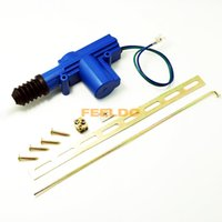 Wholesale 360 degree rotation Wire Car Central Lock System Single Gun Actuator Motor With Mounting Metal Kits