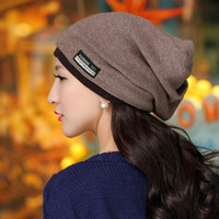 Wholesale 2014 Korean version of the new fall and winter days Ms male head cap sleeve casual hat wool hat scarf scarves