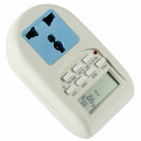 Wholesale Lowest price Programmable Electronic Timer Socket Digital Timer EU Plug New