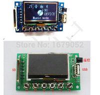 audio lyrics - Digi tal LED Bluetooth Module dc v MP3 WMA WAV decoder audio board FM Radio Lyrics display