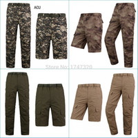 army fatigue colors - High quality Fatigue Tactical Solid Military Army Combat Cargo Pants Trousers Casual colors