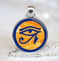 egyptian jewelry - Eye of Ra Egyptian Sun God Symbol Jewelry Necklace Pendant PD0502