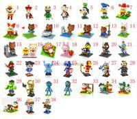 avatar toys - LOZ Diamond Building Blocks Toys Educational Enlighten Avatar Donald duck Popeye Journey To The West Avengers Brown bear