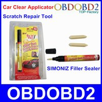 Wholesale Easy To Use Car Scratch Repair Tool Car Painting Pen In Any Color Fix It Pro Filler Sealer Works On Any Car With Retail Package