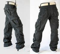 Wholesale Male s Designer Hip Hop Hiphop Pants Cargo Dance Pants Baggy Trousers HIPPOP DANCING COTTON For Man