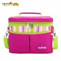 backpack camping food - 2016 New Apollo Large Food Ice Bag Thermos Picnic Bag Camping Bag Single Shoulder Backpack WA IKB023