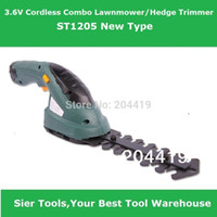 Wholesale Garden Power Tools V Cordless in1 Lawn Mower Hedge Trimmer ST1205 Grass Cutter Sier electic mower trimmer