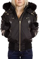bomber hat - Shop Moose Knuckles Gold series bomber down jacket for mens or womens online featuring leather trim
