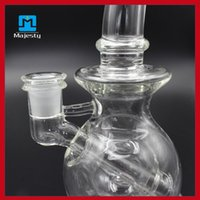 bowling ball - mothership ball rig Female Oil Rigs Incheswater pipe glass bowl hookahs smoking accessories thick glass bong