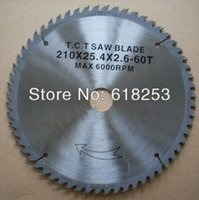 aluminum miter saw - 210 quot x x x T TCT SAW BLADE cutting wood and aluminum for compound miter saw circular saw electric wood saw