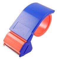 Wholesale FS Hot Sealing Packaging Parcel Plastic Width Tape Cutter Dispenser order lt no track
