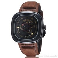 black friday - New Arrival Watches Men Military Stylish SPEATAK Sevenfriday Design Army Business Mens Male Clock Watch Leather Luxury Seven Friday