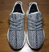 tanning - 2016 Hot Yeezy Boost Pirate Black Kanye Shoes Oxford Tan Moonrock Turtle Dove Yeezy Boost Sneakers Running Shoes Athletics Yeezys