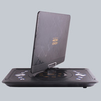Cheap 13.8-inch big screen mobile EVD Player HD portable car DVD Cars TV Game FM Card Reader 3D Ultrathin MP5 Swivel & Rechargeable