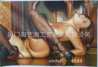 body oils - Realistic Nude Body Oil Painting Pure Hand Oil Painting CM European Style