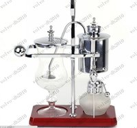 Wholesale Royal Belgium coffee maker balancing coffee machine expresso coffee maker silver golden promotion LLFA6063