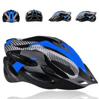 Wholesale BASECAMP New Mens Adult Street Bike Bicycle Cycling Safety Carbon Helmet Blue with Visor