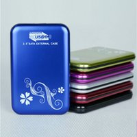 Wholesale Portable HDD Enclosures Fast USB3 SATA Inch HDD Cases Box External Hard Disks Drives Enclosures Cases MI U2