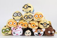 big movie screens - TSUM TSUM plush Toys Despicable Me Anime Mobile Screen Cleaner Key Chain Bag Hanger for Mobile Phone Ipad