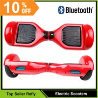 electric scooters - 2015 New Electric Scooter Bluetooth Smart Balance Wheel Smart Wheel Balance With Remote Control Two Wheels Electric Scooters Board Refly