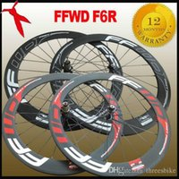 Wholesale FFWD F6R carbon road bicycle wheels set mm clincher tubular bike cycling wheelset rim available