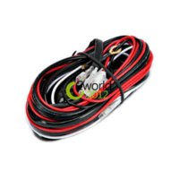 auto relay holder - Car Auto Work Driving Fog light Bar Extension Wiring Loom Harness Cable A V Switch Relay Blade Fuse Holder Loom Kit M18551