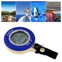 Wholesale Mini Digital Fishing Barometer Multifunction Waterproof Fish Pressure Gauges manometer Thermometer Altimeter MDM10 H22
