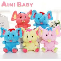 Wholesale Elephant Design Plush Toy For Child Doll Stuffed Toy For Baby Plush Doll Gift For Kid Toy Hobbie Brinquedo Juguete Pelucia