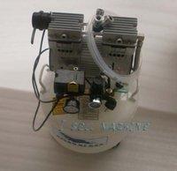Barato Air compressor-DHL frete grátis alta qualidade compressor de ar bomba de ar oilless silenciosa para reforma lcd para iphone 4 samsung i9500 s4