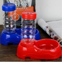 Wholesale Dogs Pets Supplies Dogs Cats Automatic Dish Bowl Bottle Water Drinking Dispenser Feeder Fountain Pet Products