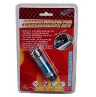 1000PCS LOT! Mini de ionizador Auto coche fresco aire purificador coche Bar de oxígeno azul con paquete por menor