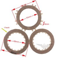 automatic clutch motorcycle - Motorcycle Clutch Disc Plate Set for cc Automatic Clutch ATV Dirt Pit Bike With High Quality