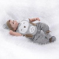 american doll house - European and American popular silicone reborn doll simulation baby doll cute lifelike toy doll house