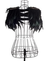 Wholesale Fashion winny gaga vest female singer ds costume jazz dance costumes clothes feather small cape