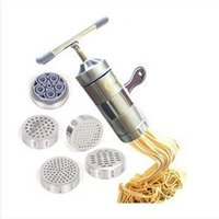 Wholesale Stainless Steel Noodle Maker With Models Manual Noodle Press Pasta Machine Kitchen Tools Juicer dandys