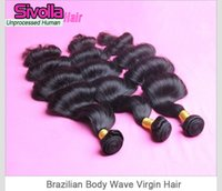 virgin indian hair - Best Selling Indian Peruvian Malaysian Original Human Brazilian Hair weft Wavy Brazilian Body Wave Virgin Human Hair Weaves Products