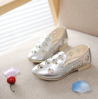 Wholesale 2015 girl shoes PU slip on plain casual hollow out princess cool sandals in Summer kids shoes colors sizes Children s Sandals XZ009