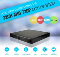Wholesale 4SATA CCTV AHD DVR CH CH Hybrid nvr hvr dvr realtime support onvif HDMI p P2P cloud ip video security stand alone dvr