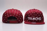 Wholesale HOT SALE New Diamond Supply co chapue gorras toucas Baseball Caps Hiphop Hats Hip Hop Snapbacks for men women bone